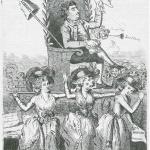 Fig. 05. «The Chairing of Fox», W. Wall, London 1784, acquaforte (British Museum, London)