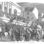 Fig. 11. «An Election Scene at Kilkenny – From a Drawing by Fitzpatrick», in «The Illustrated London News», May 14, 1859, p. 447.