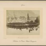 Fig. 17. «Glaris, Landsgemeinde», stampa fotografica, fine XIX secolo (Collection du Prince Roland Bonaparte, Schweizerische Landesbibliothek, Bern)