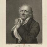 Fig. 23. Louis-Léopold Boilly, «L'Ultra», Noël, Paris 1819, incisione al bulino di Caroline Hulot (Bibliothèque nationale de France, Paris, Département Estampes et photographie, Collection De Vinck)