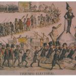 Fig. 49, «Triunfo Electoral», in «La Carcajada», 18 abril 1872.