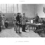 Fig. 52, Alfred-Henri Bramtot, «Le Suffrage Universel», fotoincisione, 1891 (Collezione privata).