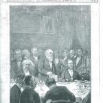 Fig. 54, «Il discorso di Depretis a Stradella – 8 ottobre (Disegno del signor Dante Paolocci)», in «L'Illustrazione Italiana», 22 ottobre 1882.