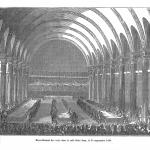 Fig. 42. «Dépouillement des votes dans la salle Saint-Jean, le 21 septembre 1848», in «L'Illustration. Journal Universel», 23 septembre 1848, p. 52.