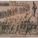 Fig. 49, «Triunfo Electoral», in «La Carcajada», 18 abril 1872.