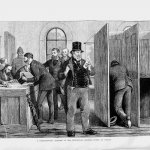 Fig. 50, H. Harral, «Parliamentary Election Nineteenth Century Voting», in «The Graphic», March 1, 1873.