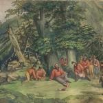 Fig. 2. John James Story, «Panorama Garibaldi», aggiunta 1862, lato 2, scena 53 1 (Brown University Library, Providence)