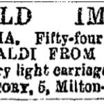 Fig. 5. «The Era», gennaio 1863