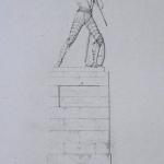"""Fig. 15 – Anonimo, «A Francesco Ferrucci», incisione in rame; in: """"Monumenti del Giardino Puccini"""", Tipografia Cino, Pistoia 1845 (Biblioteca Civica Forteguerriana, Pistoia)."""