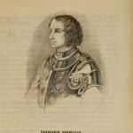 Fig. 20 – Anonimo, «Francesco Ferruccio», incisione su legno; in: «Giornale militare italiano e di varietà», Firenze, 23 febbraio 1846.