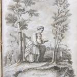 """Fig. 14 – Anonimo, «La carità educatrice», incisione in rame; in: """"Monumenti del Giardino Puccini"""", Tipografia Cino, Pistoia 1846 (Biblioteca Civica Forteguerriana, Pistoia)."""