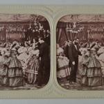 Fig. 2 – Autore anonimo, Il salotto borghese, anni 1860, diapositiva stereoscopica (collezione privata)
