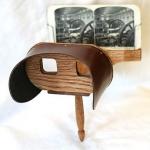 Fig. 4 – Sthereophotomaker, stereoscopio brevettato da Oliver Wendell Holmes, primi anni 1860 (collezione privata)