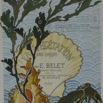 """Fig. 16 – Frontespizio (tratto da: E. Belet, """"La végétation sous marine"""", Armand Guérinet, Paris 1900)"""