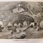 """Fig. 03 – Interno a grotta dell'acquario d'acqua dolce dell'Esposizione universale di Parigi del 1867 (tratto da: """"L'Esposizione universale del 1867 illustrata"""", Sonzogno, Milano 1867, p. 77)"""