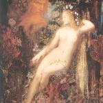 Fig. 08 – Gustave Moreau, «La Galatée», 1880 circa, olio su legno, 85,5 x 66 cm (Musée d'Orsay, Parigi)