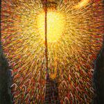 Fig. 01 – Giacomo Balla, «Lampada ad arco», 1909-1911, olio su tela, 174,7 x 114,7 cm (The Museum of Modern Art, New York)