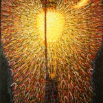 Fig. 01 – Giacomo Balla, «Lampada ad arco», 1909-1911, olio su tela, 174,7 x 114,7 cm (The Museum of Modern Art, New York)