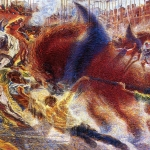 Fig. 02 – Umberto Boccioni, «La città che sale», 1910-1911, olio su tela, 199,3 x 301 cm (The Museum of Modern Art, New York)
