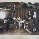 Fig. 9 – Henri Mairet, Séance avec Eusapia Palladino, chez Camille Flammarion, rue Cassini, 25 novembre 1898, épreuve à la gélatine argentique, 22, 2 x 26, 3 cm (Société Astronomique de France, Parigi)