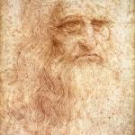 Fig. 07 – Leonardo da Vinci, «Autoritratto», 1512-1515, disegno a sanguigna su carta, 33 × 21,6 cm. (Biblioteca Reale, Torino).