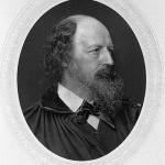 Fig. 13 – John Jabez Edwin Mayall, Ritratto di Alfred Tennyson, fotogliptia, 11,5 x 9,1 cm. (National Portrait Gallery, London).