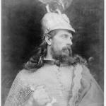 Fig. 11 – Julia Margaret Cameron, «Il re Arthur», 1874, stampa all'albumina, 35,7 x 27,6 cm. (Royal Photographic Society, London).