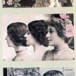 Fig. 4 – Cartoline postali tratte da fotografie di Léopold Reutlinger con ritratti di Cléo de Mérode, 1900 circa (collezione privata)