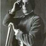 Fig. 05. Fred Holland Day, «Portrait of Kahlil Gibran», stampa al platino, 1898 circa (Royal Photographic Society, Bath)