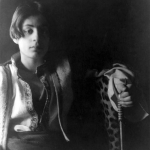 Fig. 06. Fred Holland Day, «Portrait of Kahlil Gibran», stampa al platino, 1898 circa (Library of Congress, Washington, DC)