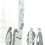 Fig. 21. Fred Holland Day, «Crucifixion», stampa al platino, 1898 (Library of Congress, Washington D.C.)