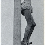 Fig. 22. Fred Holland Day, «Crucifixion profile, right», stampa al platino, 1898 (Library of Congress, Washington D.C.)