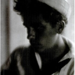 Fig. 28. Fred Holland Day, «Sailor Boy», stampa al platino, 1910 circa (Royal Photographic Society, Bath)