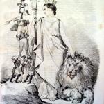 Fig. 8 – «Senza Titolo», in «Charivari del popolano», dicembre 1848, litografia in penna.