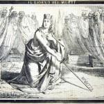 Fig. 12 – «Il giorno dei morti», in «La Maga», 2 novembre 1852, litografia in penna.