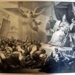 Fig. 6 – Nicola Ulacacci, «Il 16 luglio 1846», litografia (Bibliothèque nationale de France, Paris).