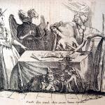 Fig. 15 – «Costi che vuol che sono bene spesi», in «Il Don Pirlone», 1 settembre 1848, litografia.