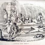 Fig. 19 – «Provvidenze civiche umanitarie», in «Il Don Pirlone», 8 novembre 1848, litografia in penna.