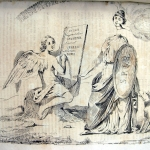 Fig. 21 – Antonio Masutti, «Gli starebbe proprio a pennello», in «Il Don Pirlone», 2 gennaio 1849.