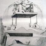 """Fig. 29 – Antonio Masutti, «Il papato», in Michelangelo Pinto, """"Memorie di un italiano dal 1 settembre 1848 al 31 dicembre 1850"""", Torino 1853, incisione."""