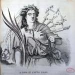 Fig. 30 – Francesco Redenti, «La donna dai quattro dolori», in «Il Fischietto», 13 novembre 1853.