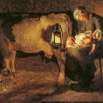 Fig. 01. Giovanni Segantini, «Le due madri», 1889, olio su tela (Galleria d'Arte Moderna, Milano)