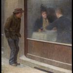 Fig. 03. Emilio Longoni, «Riflessioni di un affamato», 1894, olio su tela (Museo del Territorio Biellese, Biella)