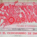 Fig. 05. Luca Fornari, «Quo Vadis? Periodico di letteratura Sociale», 1901, testata illustrata