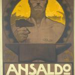 Fig. 07. Giuseppe Palanti, «Ansaldo», 1918, manifesto (Civica Raccolta delle Stampe Achille Bertarelli, Milano)