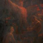 Fig. 08. Carlo Carrà, «Allegoria del Lavoro», 1906, olio su tela (Cooperativa di Costruzioni Lavoranti Muratori, Milano)