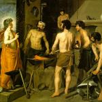 Fig. 10. Diego Rodríguez de Silva y Velazquez, «La fucina di Vulcano», 1650 circa, olio su tela (Museo Nacional del Prado, Madrid)