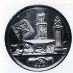 """Fig. 18. Medaglia dell'VIII """"Congresso degli Operaj"""" in Milano, 1860, bronzo (Collezione privata)"""