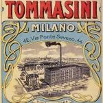 Fig. 13. «Società Pastificio Tommasini», 1908, marchio di fabbrica (Archivio della Camera di Commercio di Milano - C.C.I.A.A, Milano)
