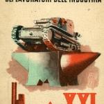 Fig. 21. «Confederazione fascista dei lavoratori dell'industria», 1943, cartolina